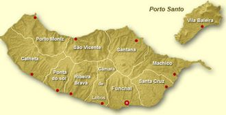 Districts of Madeira Island