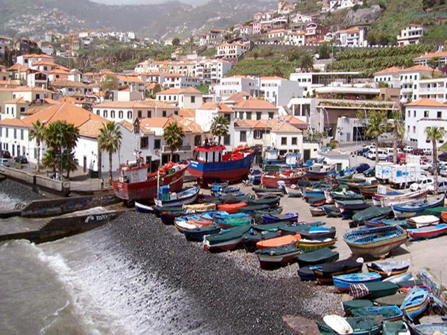 Madeira The Fishing Village Of Camara De Lobos