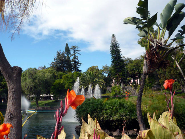 Santa Catarina Park in Funchal