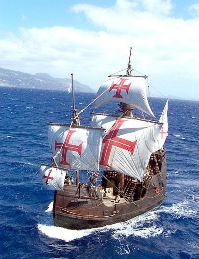 the santa maria flagship funchal madeira island